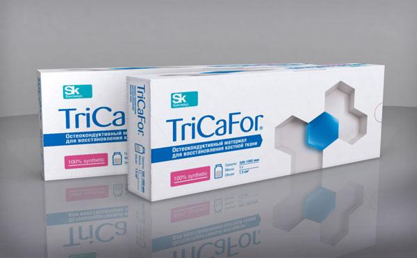 Остеокондуктивный материал для восстановления костной ткани